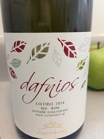 Douloufakis 2014 Dafnios Red