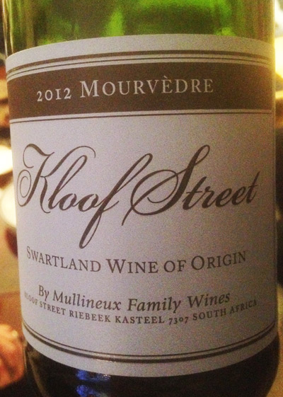 Kloof Street mourvedre